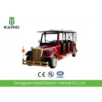 China Electric Powered Vintage 8 Person Golf Cart Tour Bus With 48V DC Motor on sale