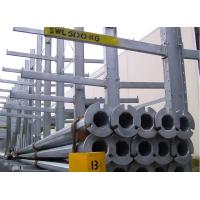 China Industrial Long Pipe Cantilever Storage Rack Adjustable Multilayer Custom Size on sale