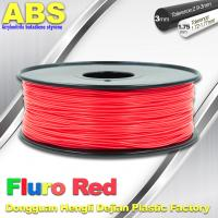 Quality Fluorescent ABS 3d Printer Filament ABS 3D Printing Material For Desktop Printer for sale