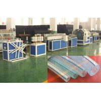 Single - Screw Plastic Pipe Extrusion Line For Producing PVC Fiber Enhancing Hose Manufactures