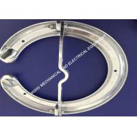 Smooth Ra3.2 Grading Corona Rings , Anti - Rust Arcing Horns And Rings  Manufactures