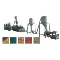 Composite Wood Plastic Pelletizing Machine , WPC Recycling Granule Machine Manufactures