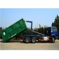 High Performance Solid Garbage Collection Trucks HW13710 Transmission Manufactures