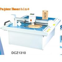 China DCZ1310 carton box die cut plotter sample flat bed cutting machine on sale