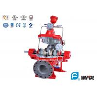 500GPM@125PSI Ul Listed Split Case Fire Pump For Firefighting , Ductile Cast Iron Casing Manufactures