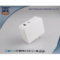 White Multi Functional 30w Usb Charger Adapter With Qc And Type - C , Quick Charging Manufactures