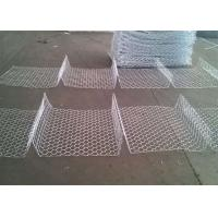 Hot Dipped Galvanized Gabion Box / Gabion Rock Cages Retaining Wall Manufactures