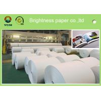 Uncoated Ticket Printing Paper , Certificate Printing Paper High Density Manufactures