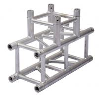 Durable Aluminum Lighting Truss Unique Design With Three Sides Corner Manufactures