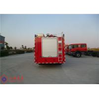 Departure Angle 14° Commercial Fire Trucks Max Torque 1190N.M With Manual Gearbox Manufactures
