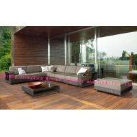 MTC-195 Garden Deluxe Rattan high luxury sofa sets – Brown & Cream And Black & Pale Grey Available Manufactures