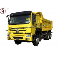 Euro 2 10 Wheeler Double Axle Tipper Truck Manufactures