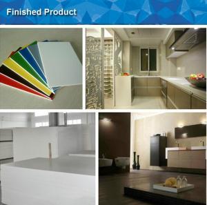 PS Plastic / PVC Foam Board Extrusion Machine Max. Output 260kgs/h Manufactures