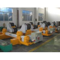 30T Cylinder Pipe Welding Rotator Self Wheel Alignment for Oil Tank