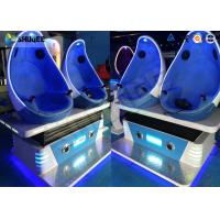 Luxurious Virtual Reality / VR 9d Cinema Simulator Game Machine For Shopping Mall Manufactures