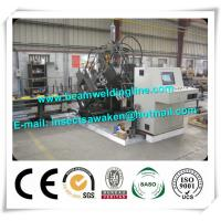China Industrial H Beam Production Line Metal Punching Machine For Sheet Metal Hole Punch on sale