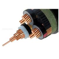 Buy cheap Copper 6/10 (12 ) kV 3 Core XLPE Insulated Cable MV Power Cables screened Unarmored Electrical cable from wholesalers