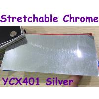 China Stretchable Chrome Mirror Car Wrapping Vinyl Film - Chrome Silver wholesale