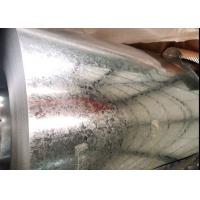 China Corrugated Galvanized Steel Sheet , Outer Wall Galvalume Steel Roofing on sale