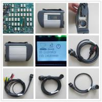 China [EU Ship No Tax] MB Star C4 SD Connect Compact 4 Multiplexer for Mercedes Benz Multi Languages for MB Car on sale