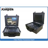 China Pelican Case Wireless Ground Control Station COFDM Telemetry GCS for UAV Application on sale