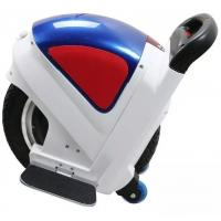 White Electric Self Balancing Unicycle With Armrest , Battery Powered Unicycle Manufactures