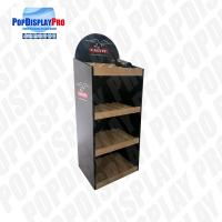3 Shelving Promotional Wood Permanent Display 5 Years Serving Time At Stores Manufactures