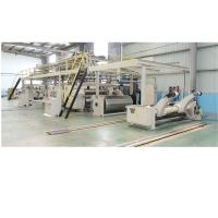 Buy cheap Two Layers Corrugated Cardboard Production Line with Medium Speed 150m/min from wholesalers