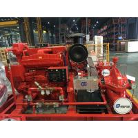 Buy cheap EDJ Diesel Engine Motor and one Jockey Ul/FM Split casing Fire Pump set 500gpm from wholesalers