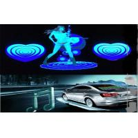 Car Audio Voice Rhythm Light , Sound Music Activated Dancing Car LED Equalizer Sticker Manufactures