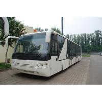 Large Capacity Low Carbon Alloy Body Airport Passenger Bus Ramp Bus DC24V 240W Manufactures