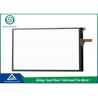 China 4.3 Inch Analog 4 Wire Resistive Touch Panel for LCD Monitor Single Touch on sale