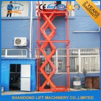China Stainless Steel Stationary Hydraulic Scissor Lift , Stationary Scissor Lift Platforms on sale