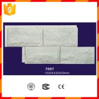 High strength light weight fireproof pu stone wall panels Manufactures