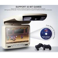 China 9 inch car roof dvd player overhead flipdown on sale