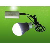 led bulb rechargeable light with usb wire Manufactures