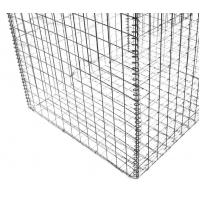 China Construction Gabion Wire Mesh Rock Basket Retaining Wall 4.0mm-5.0mm Wire Gauge on sale