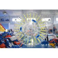 PVC Or TPU Durable Inflatable Shinning Zorb Ball Used On Grassplot for sale