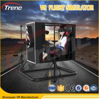 720 Degree Rotating Cockpit Flight Simulator Machine Experience Exciting Shooting Game