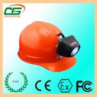 Crodless Safety LED Head Torch CREE Rechargeable LED Headlamp 4500mAh Manufactures
