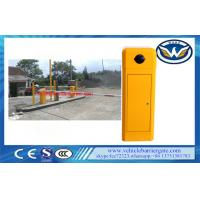 Buy cheap Classic Model Toll Barrier Gate 8 Meters Boom Length With Adjustment Running from wholesalers