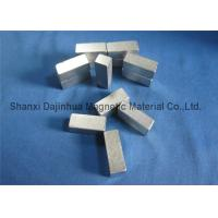 High Strength Motor Neodymium Block Magnets , Sintered Neodymium Iron Boron magnets Manufactures