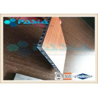 Buy cheap Fire Proof Aluminium Honeycomb Composite Panels Indoor Wall Panel Use from wholesalers