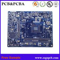 2018 Immersion gold FR4 Rogers PCB circuit boards RO4003 4350 material PCB computer and mobile motherboard Manufactures