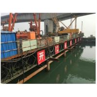 321 Type Bailey Suspension Bridge , Painted Folating Pontoon Military Portable Bridge Manufactures