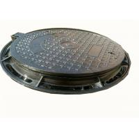China Cast Iron Sewage Drain Cover Galvanized Steel Manhole Covers ASTM C250 on sale