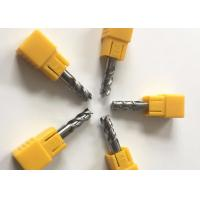 High Precision 6mm Carbide End Mill Square Milling Cutter Tools For Aluminum Manufactures