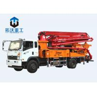 Long Distance Delivery Truck Mixer Boom Pump For Water Conservancy Project Manufactures