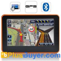 """Adventurist - 4.3"""" Touchscreen GPS Navigator with Multimedia Player Manufactures"""