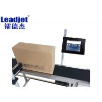 Large 3.8L Ink Tank Inkjet Coding And Marking Machines For Metal / Plastic Manufactures